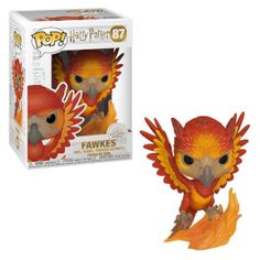 From Harry Potter, fawkes the Phoenix, as a collectible Funko pop! Make sure to check out all Harry Potter Funko pop! Dumbledore's trusty Phoenix is now a Funko pop! Figurine Pop Harry Potter, Harry Potter Pop Figures, Harry Potter Characters, Funko Pop Harry Potter, Harry Potter Merchandise, Patronus Harry Potter, Objet Harry Potter, Ginny Weasley, Ron Y Hermione