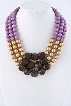 Jackie Statement Necklace | Emma Stine