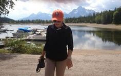 Twitter fan @FutureHckeyWife is representing her Islanders while on vacation in Wyoming this summer. #IsItOctoberYet