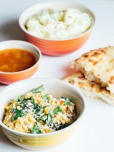 Daal, Garam Masala, Hummus, Risotto, Ethnic Recipes, Food, Cilantro, Essen, Meals