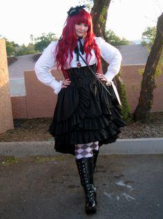 Serafina - plus size lolita