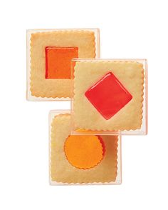 """Bake a modern version of the classic """"stained glass"""" cookies. Cookies in The Box Depot PVC boxes CC-BX92, theboxdepot.com."""