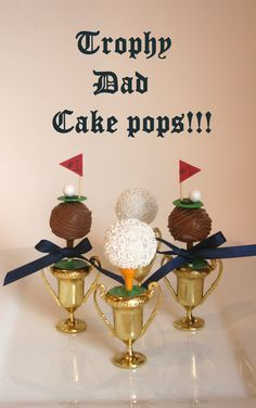 cake pops/golf