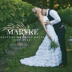 """Maryke, bespoke wedding dress designer, says: """"I honestly love every aspect of what I do, but there is a moment somewhere during the fitting process when a Bride steps into her wedding dress and does a little 'swish'… that is my favourite moment!""""  Come meet Maryke, along with all our other creative and talented vendors, at the Midlands Bridal Fair being held at Lythwood Lodge on Sunday, 19 February 2017.   Don't miss out - book your ticket/s online: http://midlandsbridalfair.com/online-ti"""