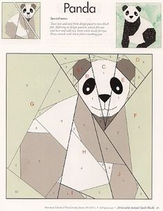 Panda - Lots of other animal block on this site!