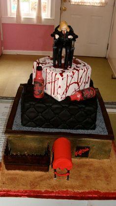 True blood cake.