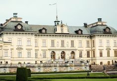 The Royal Palace Drottningholms in Sweden