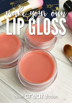 If your in need of a beauty product that will make your lips feel and look amazing then you will love our DIY Tinted Lip Gloss.