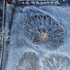 """98 Likes, 1 Comments - Denim Première Vision (@denimbypv) on Instagram: """"Barrely there embroideries, by Denim Clothing Company⠀ #denimpv #denim #embroideries"""""""