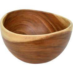 leaf shaped monkey pod wood carved bowl from the. Black Bedroom Furniture Sets. Home Design Ideas