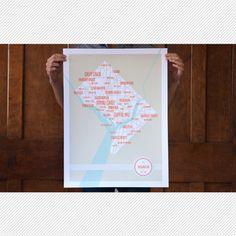 DC map of neighborhoods!