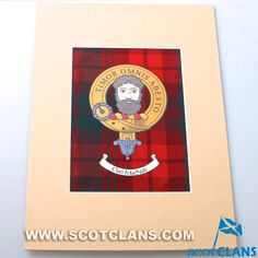 MacNab Clan Crest Pr