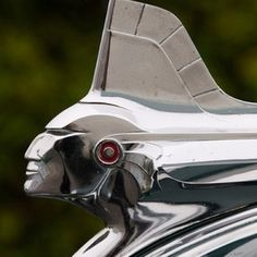 Pontiac Indian hood ornament. (just cool looking)