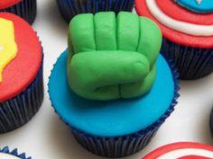 Cupcakes dos vingadores