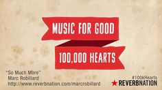 We are proud to be part of the Music for Good Movement! Celebrate #100kHearts with us and ReverbNation: http://blog.reverbnation.com/2013/10/25/music-for-good-hits-100000-artist-milestone-100000-hearts-100khearts/