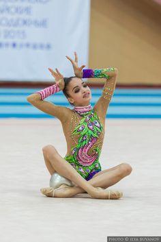 Ekaterina Ayupova (Russia) junior, Russian-Chinese Games 2015