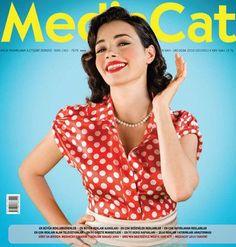 Özgü Namal - Mediacat Magazine Cover [Turkey] (January 2010)