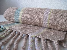 The '80s Eyeshadow' Handwoven Cotton Scarf by SameheartDesigns, $92.00