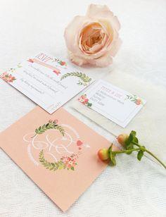 Midsummers Dream Wedding Stationery