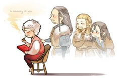 Whichever Hobbit film has the Battle of Five Armies in it is gonna be really depressing... Bilbo with Thorin, Fili and Kili
