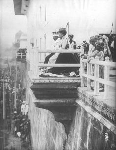 King George V and Queen Mary at their Delhi Durbar, 1911