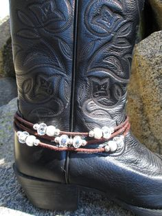 Western Wedding Boot Bracelet - Boot Jewelry