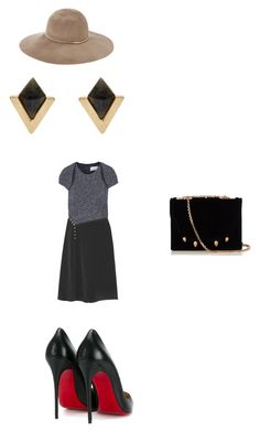 """""""Untitled #91"""" by egracelett-i on Polyvore featuring 3.1 Phillip Lim, Christian Louboutin, Accessorize, Eugenia Kim and Marco de Vincenzo"""