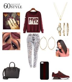 """""""Untitled #99"""" by cristrotter ❤ liked on Polyvore featuring Betsey Johnson, Anne Klein, NIKE, Givenchy, Maison Takuya, River Island, men's fashion, menswear, DRAKE and views"""