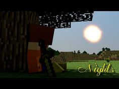 "♪ ""Nights"" A Minecraft Song Parody of Ellie Goulding's ""Lights"" ♪"