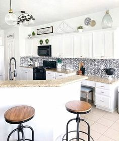 Get inspired by Farmhouse Kitchen Design photo by Wayfair lets you find the designer products in the photo and get ideas from thousands of other Farmhouse Kitchen Design photos. Decorating Above Kitchen Cabinets, Houston Houses, Wingback Armchair, Clothes For Women Over 50, Kitchen Designs Photos, Decor Styles, Farmhouse, Flooring, Furniture