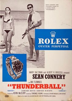 Rolex Submariner Add James Bond