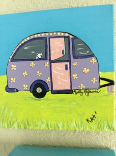 A personal favorite from my Etsy shop https://www.etsy.com/listing/465617692/original-purpke-cool-camper-6x6