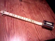 A canjo, sometimes spelled can jo, is a simple musical instrument composed of a neck of some sort and an alluminum can, They have one to four strings (…that I have seen their could be some wi…