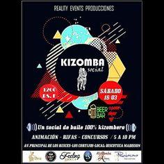 #Rumbacana invita a la comunidad kizombera al #Social de mañana #sabado en #Madisson