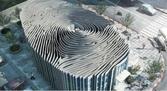 Amazing World: Amazing Fingerprint building in Thailand