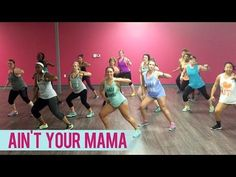 Jennifer Lopez - Ain't Your Mama (Dance Fitness with Jessica) - YouTube
