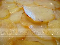 Gluten-free, Dairy-free Scalloped Potatoes and Onions. I added GF ham too & it's in the oven now & looks good!