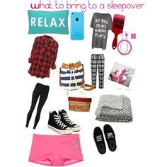What to bring to a sleepover