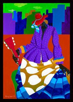 Ivey Hayes Art Work      SISTER GIRL