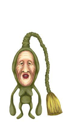 「撢子精」、醜比頭綱、掃散目、掃觸頭科、宅忍屬。身長 :10㎝~12㎝(不含頭觸)。棲息地 :民家。特徵 :頭觸可以自由伸縮,前端有毛生長。食物 :雜食性。KOBITOS Official Website