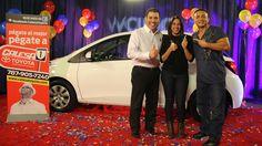 Momento en que nuestra participante ganó el concurso y se llevó un #Toyota Nuevo Toyota, Pageants