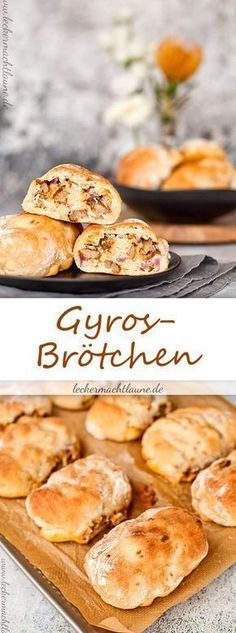 Gyros-Brötchen {frisch aus dem ofen Made fast and delicious: Gyros rolls! Gyros rolls {fresh auSpring rolls from the BFresh from the oven – Zwet Pampered Chef, Pizza Recipes, Appetizer Recipes, Snack Recipes, Cooking Recipes, Fast Recipes, Party Finger Foods, Snacks Für Party, Rhubarb Cake