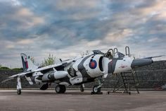 """Harrier GR3 """"Arctic Warrior"""""""