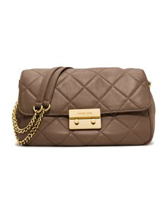 MICHAEL Michael Kors  Large Sloan Quilted Shoulder Bag. pretty good!!