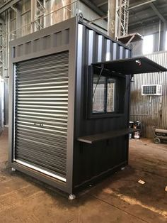 Take a Look at Our Work Container Space Brooklyn Victoria Australia Container Coffee Shop, Container Shop, Container House Design, Cargo Container, Cafe Shop Design, Kiosk Design, Shop Interior Design, Shipping Container Design, Shipping Containers For Sale