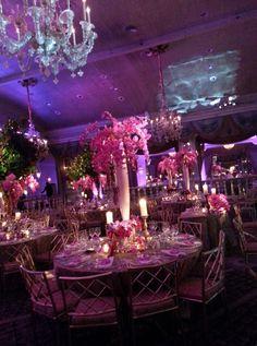 Ta da; the grand finale!  Our Pierre Hotel wedding, in the Grand Ballroom.