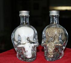 Chrystal Head Salt & Pepper Shakers by shaykers on Etsy, $24.95