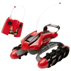 Red Terrain Twister Vehicle with Remote Control Hot Wheels by Mattel. $99.78. It is water tight for aquatic driving. ALL Batteries INCLUDED. Transmitter has been designed for easy maneuvering in all directions. Conquers almost any surface: grass, sand, pavement, water and even snow can't stop Terrain Twister. Special corkscrew design allows it to churn straight through even the toughest terrains while also allowing it to glide quickly sideways across most surfaces...