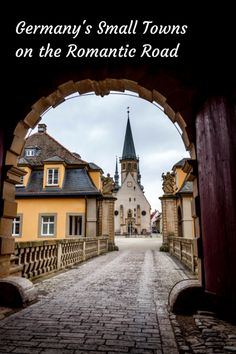 The highlights and charming towns of a trip down Germany's Romantic Road