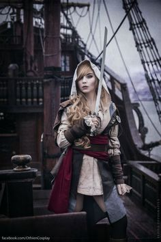 Assassin's Creed IV: Black Flag genderbend cosplay